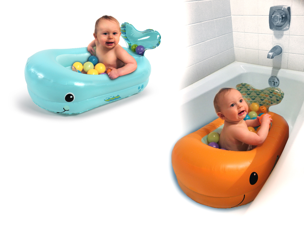 """Bubble Ball"""" Inflatable Bath Tub – Stacy Castro, Product Designer"""